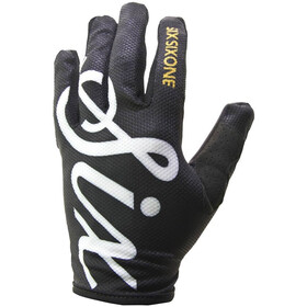 SixSixOne Comp Gants, black script